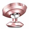 Baseus Small Ears Vertical Type Manyetik Universal Rose Gold Araç Tutucu - Resim 1