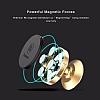 Baseus Small Ears Vertical Type Manyetik Universal Rose Gold Araç Tutucu - Resim 7