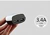 Baseus Smart Serisi Dijital Göstergeli Araç Şarj Aleti - Resim 5