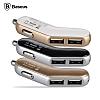 Baseus Smart Thin Business Çift USB Girişli Gri Araç Şarjı - Resim 6