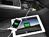 Baseus Smart Thin Business Çift USB Girişli Gri Araç Şarjı - Resim 9