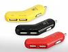 Baseus Smart Thin Fit Fashion Çift USB Girişli Siyah Araç Şarjı - Resim 7