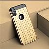 Baseus Star Lighting iPhone X Gold Silikon Kılıf - Resim 1