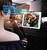 Baseus Telefon ve Tablet Beyaz Araç Koltuk Arkası Tutucu - Resim 8