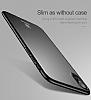Baseus Thin iPhone X Tam Kenar Siyah Rubber Kılıf - Resim 1