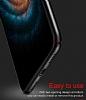 Baseus Thin iPhone X Tam Kenar Siyah Rubber Kılıf - Resim 8