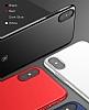 Baseus Thin iPhone X Tam Kenar Siyah Rubber Kılıf - Resim 9