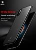 Baseus Thin iPhone X Tam Kenar Kırmızı Rubber Kılıf - Resim 5