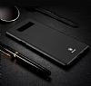 Baseus Thin Samsung Galaxy Note 8 Tam Kenar Siyah Rubber Kılıf - Resim 9