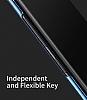 Baseus Thin Samsung Galaxy Note 8 Tam Kenar Siyah Rubber Kılıf - Resim 5