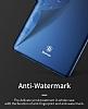 Baseus Thin Samsung Galaxy Note 8 Tam Kenar Siyah Rubber Kılıf - Resim 8
