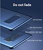 Baseus Thin Samsung Galaxy Note 8 Tam Kenar Siyah Rubber Kılıf - Resim 7
