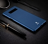 Baseus Thin Samsung Galaxy Note 8 Tam Kenar Siyah Rubber Kılıf - Resim 1