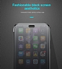 Baseus Touchable iPhone X İnce Kapaklı Siyah Kılıf - Resim 1