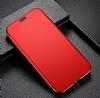Baseus Touchable iPhone X İnce Kapaklı Kırmızı Kılıf - Resim 2