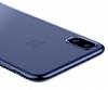 Baseus Simple iPhone X Siyah Silikon Kılıf - Resim 2