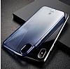 Baseus Simple iPhone X Kırmızı Silikon Kılıf - Resim 4