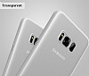 Baseus Wing Samsung Galaxy S8 Plus Ultra İnce Şeffaf Rubber Kılıf - Resim 5
