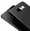 Baseus Wing Samsung Galaxy S8 Plus Ultra İnce Siyah Rubber Kılıf - Resim 1