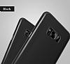 Baseus Wing Samsung Galaxy S8 Plus Ultra İnce Siyah Rubber Kılıf - Resim 4