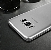 Baseus Wing Samsung Galaxy S8 Ultra İnce Şeffaf Rubber Kılıf - Resim 4