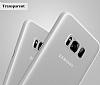 Baseus Wing Samsung Galaxy S8 Ultra İnce Şeffaf Rubber Kılıf - Resim 5