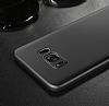Baseus Wing Samsung Galaxy S8 Ultra İnce Siyah Rubber Kılıf - Resim 3