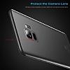 Baseus Wing Samsung Galaxy S9 Plus Ultra İnce Şeffaf Beyaz Rubber Kılıf - Resim 5