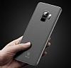 Baseus Wing Samsung Galaxy S9 Plus Ultra İnce Şeffaf Beyaz Rubber Kılıf - Resim 4