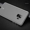 Baseus Wing Samsung Galaxy S9 Ultra İnce Şeffaf Beyaz Rubber Kılıf - Resim 2