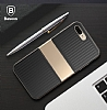 Baseus Travel Case iPhone 7 Plus Ultra Koruma Gold Kılıf - Resim: 1