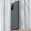 Benks Lollipop Samsung Galaxy S20 Siyah Ultra İnce Rubber Kılıf - Resim 1