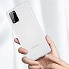 Benks Lollipop Samsung Galaxy S20 Siyah Ultra İnce Rubber Kılıf - Resim 5