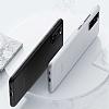 Benks Lollipop Samsung Galaxy S20 Siyah Ultra İnce Rubber Kılıf - Resim 2