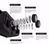 BlitzPower II VR Bluetooth Kontrol Kumandalı Siyah 3D Sanal Gerçeklik Gözlüğü - Resim 6