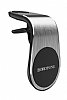 Borofone BH10 Silver Manyetik Havalandırma Tutucu