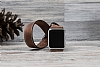 Bouletta Apple Watch Gerçek Deri Çift Tur Kordon G6 (42 mm) - Resim 1
