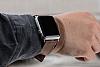 Bouletta Apple Watch Gerçek Deri Çift Tur Kordon G6 (42 mm) - Resim 5