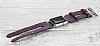 Bouletta Apple Watch Gerçek Deri Mor Kordon G7 (38 mm) - Resim 1