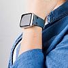 Bouletta Apple Watch / Watch 2 Gerçek Deri Kordon BRN4 (38 mm) - Resim 3