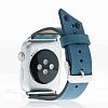 Bouletta Apple Watch / Watch 2 Gerçek Deri Kordon BRN4 (38 mm) - Resim 1