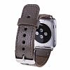 Bouletta Apple Watch Gerçek Deri Kordon FL06 (38 mm) - Resim 1
