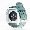 Bouletta Apple Watch Gerçek Deri Kordon G14 (38 mm) - Resim 1