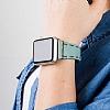 Bouletta Apple Watch Gerçek Deri Kordon G14 (38 mm) - Resim 3