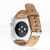Bouletta Apple Watch Gerçek Deri Kordon G19 (38 mm) - Resim 1