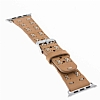 Bouletta Apple Watch Gerçek Deri Kordon G19 (38 mm) - Resim 2