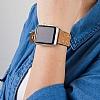 Bouletta Apple Watch Gerçek Deri Kordon G19 (42 mm) - Resim 3