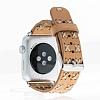Bouletta Apple Watch Gerçek Deri Kordon G19 (42 mm) - Resim 1