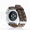 Bouletta Apple Watch Gerçek Deri Kordon G6 (42 mm) - Resim 3
