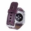 Bouletta Apple Watch Gerçek Deri Kordon G7 (38 mm) - Resim 1